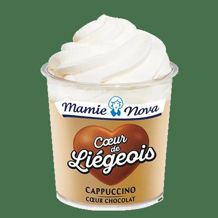 Mamie Nova - Cappuccino coeur Chocolat
