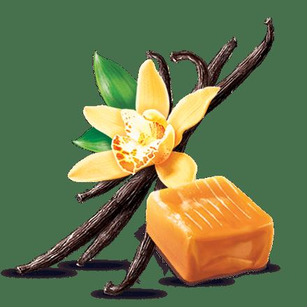 Mamie Nova - Ingrédient Cœur de liégeois Vanille coeur Caramel Beurre Salé