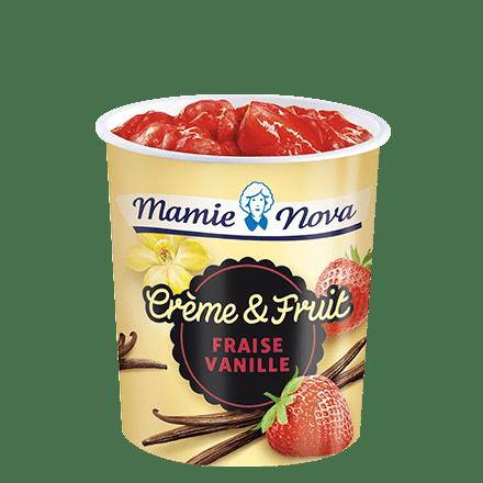 Mamie Nova - Packaging Crème & Fruit Fraise Vanille
