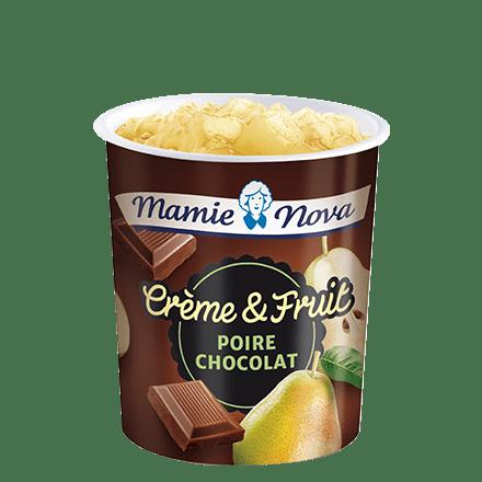 Mamie Nova - Packaging Crème & Fruit Poire Chocolat