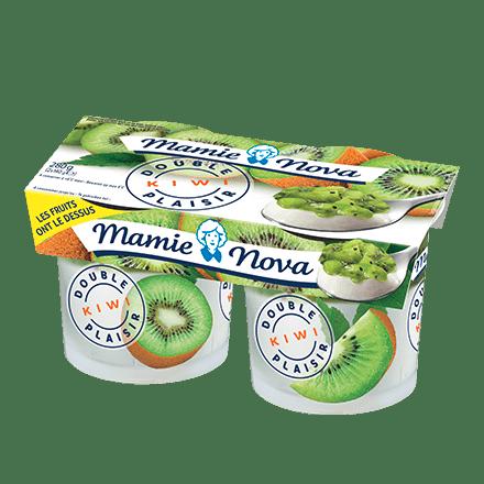 Mamie Nova - Packaging Double Plaisir Kiwi
