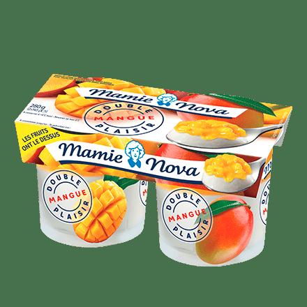 Mamie Nova - Packaging Double Plaisir Mangue