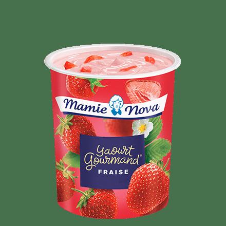 Mamie Nova - Packaging Yaourt Gourmand® aux fruits Fraise