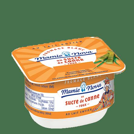 Mamie Nova - Fromage Blanc Sucre de Canne Roux