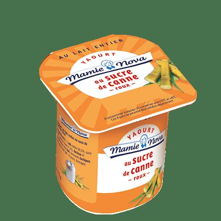 Mamie Nova - Yaourt Sucre de Canne Roux