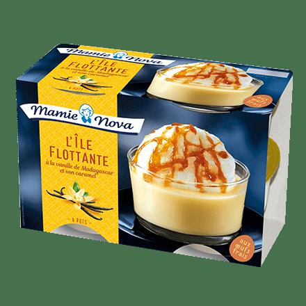 Mamie Nova - Packaging Dessert Pâtissier Île Flottante