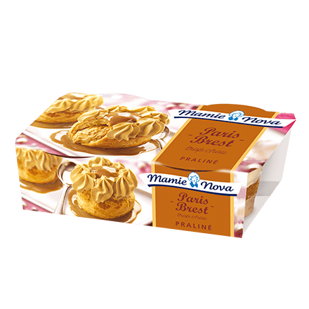 Mamie Nova - Packaging Dessert Pâtissier Paris-Brest