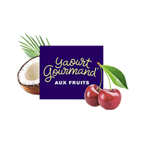 Yaourt Gourmand® aux fruits