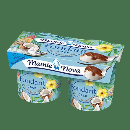 Mamie Nova - Packaging Fondant sur Lit Coco sur lit de caramel