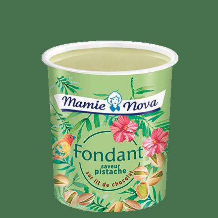 Mamie Nova - Packaging Fondant sur Lit Pistache sur lit de chocolat