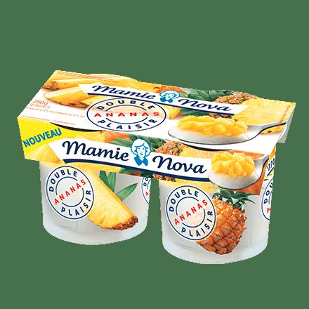 Mamie Nova - Packaging Double Plaisir Ananas