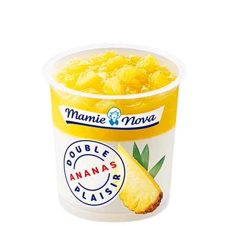 Mamie Nova - Packaging Double Plaisir Ananas