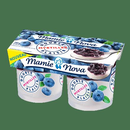 Mamie Nova - Packaging Double Plaisir Myrtilles