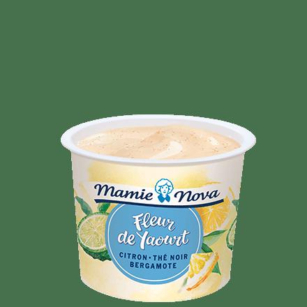 Mamie Nova - Packaging Fleur de Yaourt Citron Thé Noir Bergamote