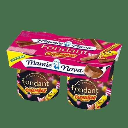 Mamie Nova - Packaging Gourmand® Fondant Carambar saveur Caramel
