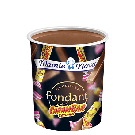 Mamie Nova - Packaging Gourmand® Fondant Carambar saveur caramel