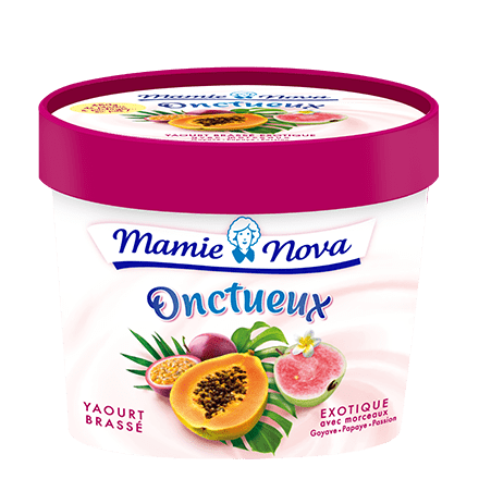 Mamie Nova - Packaging Onctueux Exotique