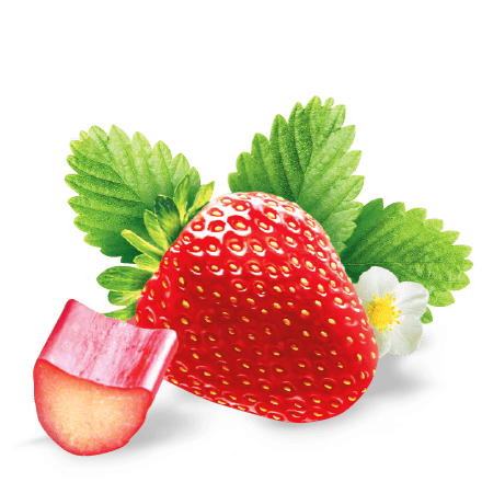 Mamie Nova - Ingrédient Onctueux Fraise Rhubarbe