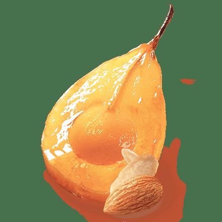 Mamie Nova - Ingrédient Double Plaisir Dessert Façon poire amandine