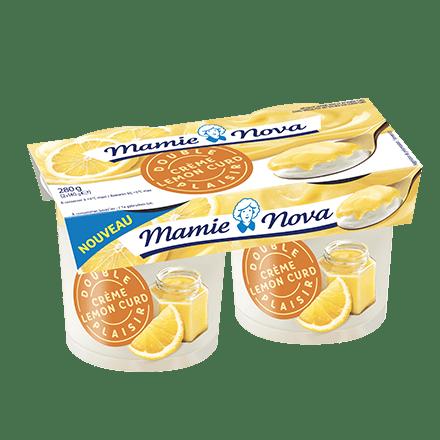 Mamie Nova - Packaging Double Plaisir Dessert Crème Lemon Curd